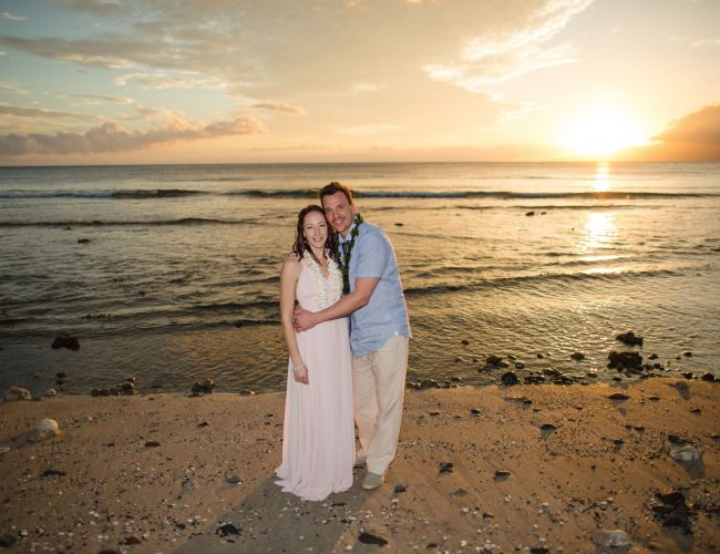 Rory and Amber's Vow Renewal at Olowalu Plantation graphic